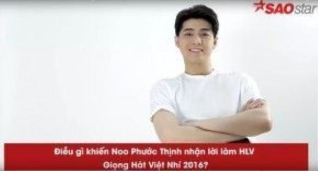 Noo Phước Thịnh tham gia làm HLV để chuẩn bị lập gia đình ?!