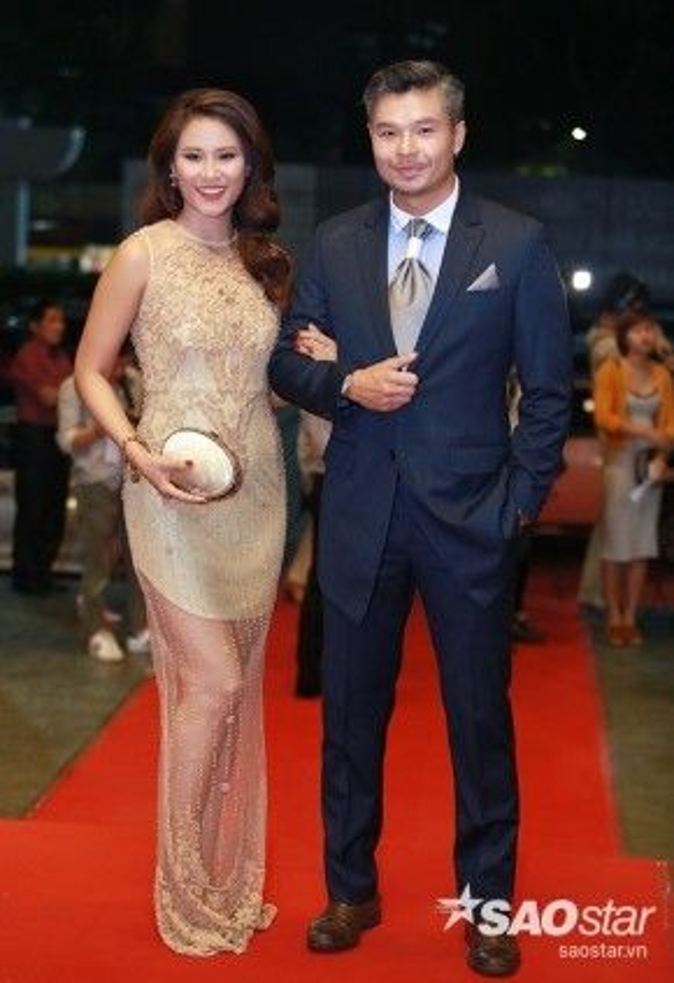 Hoa hậu Biển Vân Anh và Lâm Vissay.