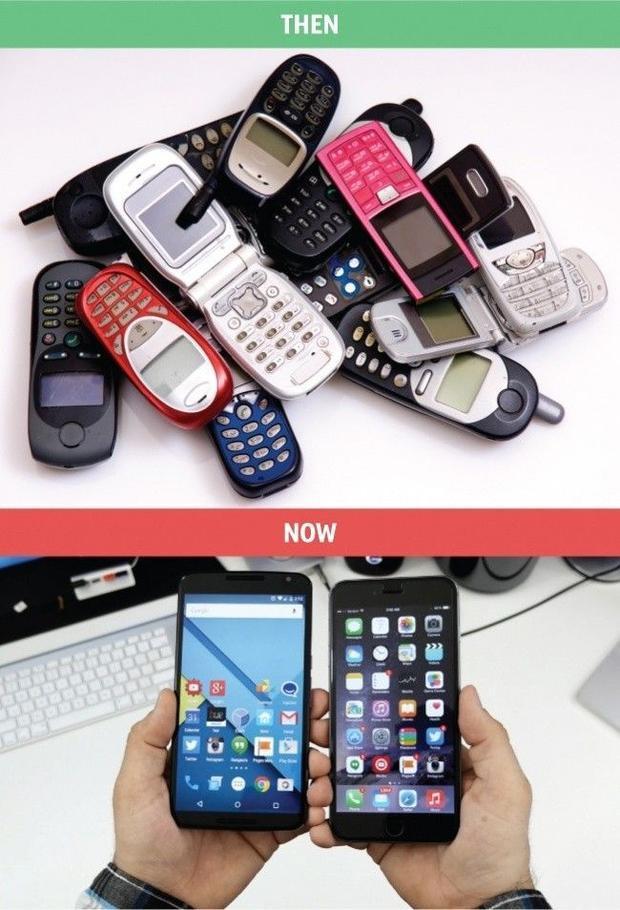 10 bức ảnh chứng minh: Công nghệ đã thay đổi hoàn toàn cách con người tồn tại