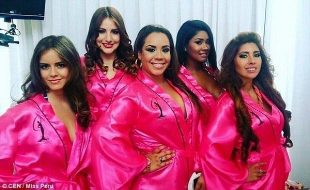 Cô nàng béo 75kg lọt Top 10 Hoa hậu Hoàn vũ Peru 2016