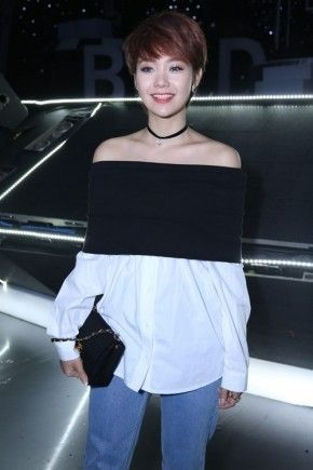 Cùng với kiểu tóc cá tính, phong cách thời trang sành điệu, Minh Hằng dần trở thành một fashionista mới của Việt Nam.