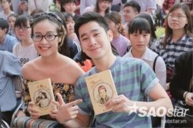 MC Phí Thùy Linh và Tuấn Hải cũng có mặt. Cả hai MC đều là những người bạn rất thân với Thanh Duy ở Hà Nội.