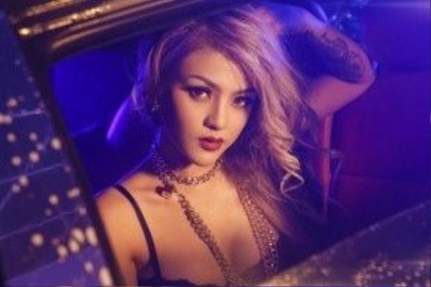 Melo là một trong những nữ DJ có thân hình chuẩn từng centimet của giới DJ Việt hiện nay.