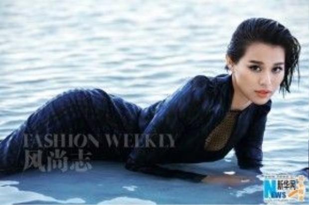 Hồ Hạnh Nhi hút hồn trên tạp chí.