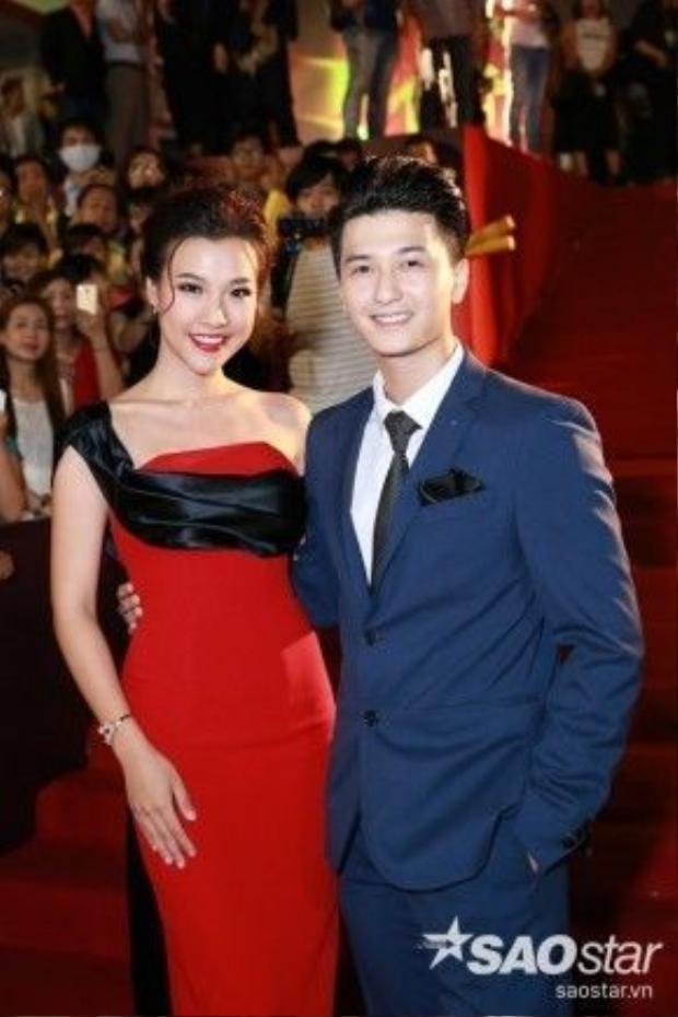 Cặp đôi Hoàng Oanh - Huỳnh Anh.