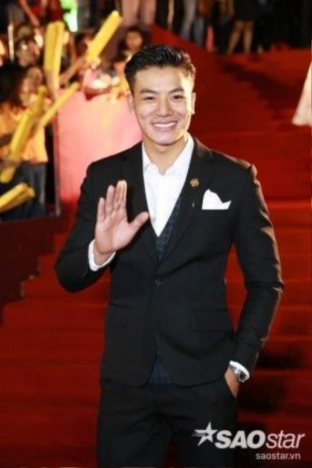 Diễn viên Hiếu Nguyễn.