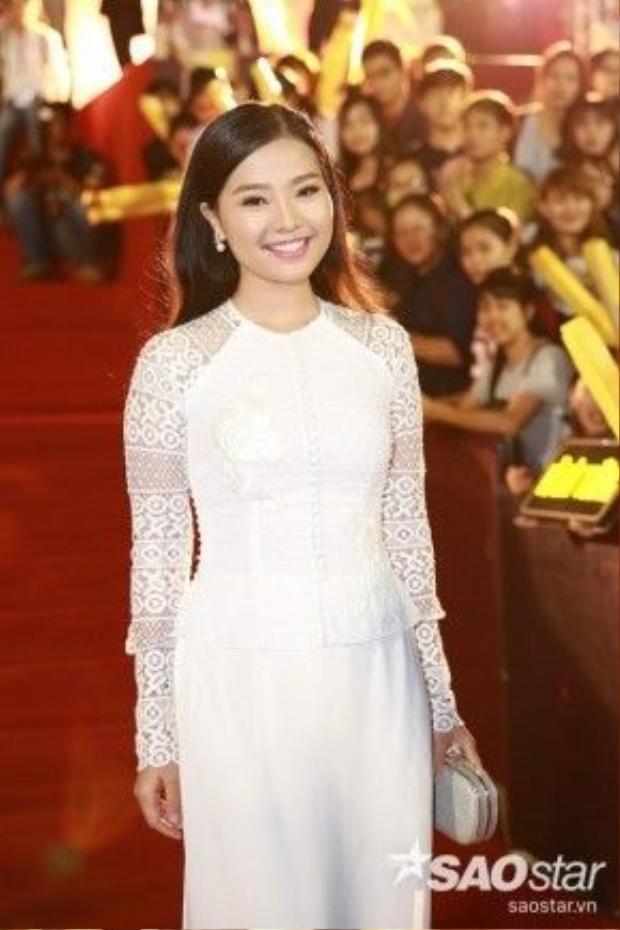 Diễn viên Khánh Hiền.