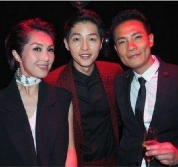 Vợ chồng Dương Thiên Hoa không hâm mộ Song Joong Ki.