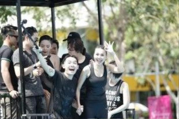 Phở đặc biệt hào hứng tham gia thử thách cùng Thanh Hằng.