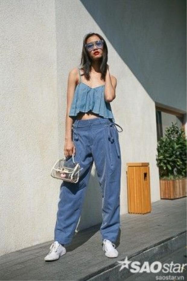 Trang phục denim khiến khá nhiều fashionista phát cuồng