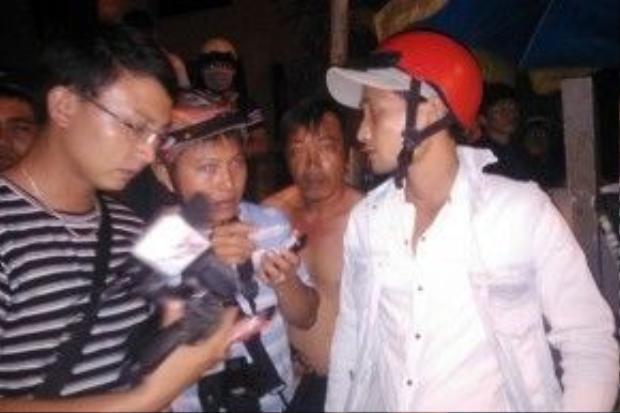 Anh Thắng (cháu nạn nhân) cho biết 2 vợ chồng Minh ly thân gần 1 năm nay.