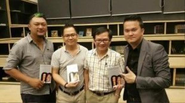 Đạo diễn Phan GIa Nhật Linh đã có cuộc gặp gỡ với nhà văn Nguyễn Nhật Ánh.