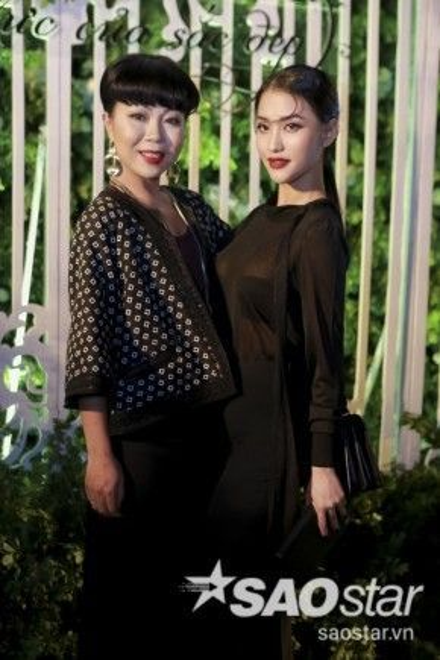 MC Trác Thúy Miêu và hot girl - diễn viên Mai Hồ.