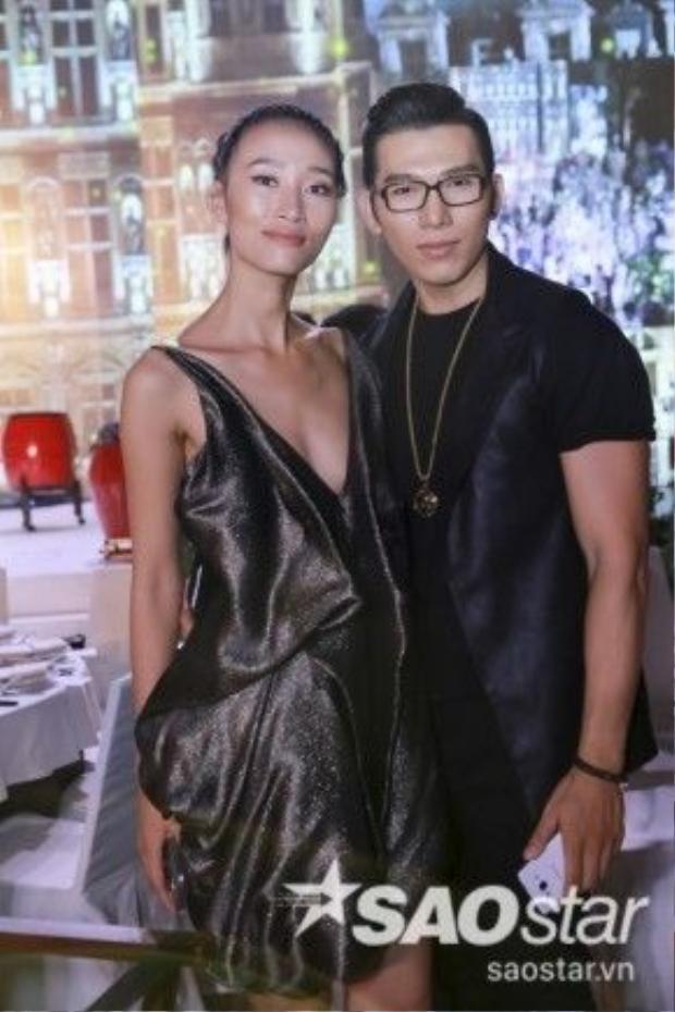 Người mẫu Trang Khiếu.