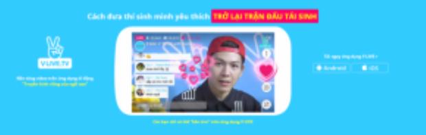 """50% số điểm sẽ tính từ lượt xem và số lượng """"tim""""của clip trên ứng dụng V Live"""