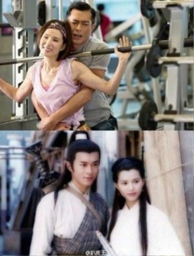 Cổ Thiên Lạc và Lý Nhược Đồng tái ngộ sau 20 năm.