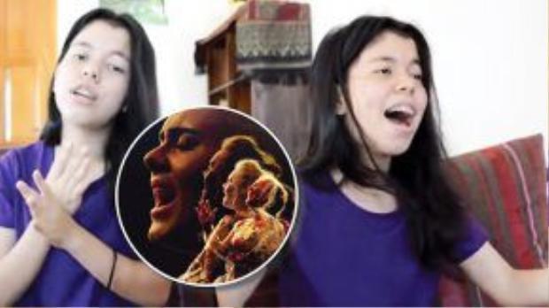 Chiara là một thí sinh nổi bật của vòng Casting online