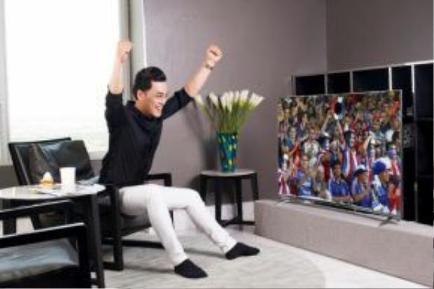 """Phan Ngọc Luân chia sẻ anh là một fan cuồng chính hiệu của bộ môn thể thao """"vua""""."""