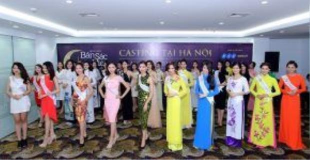 Những bông hoa tỏa sáng trong vòng casting tại Hà Nội.
