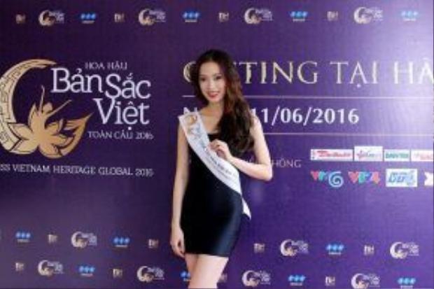 Một trong những gương mặt nổi bật tại vòng casting tại Hà Nội.