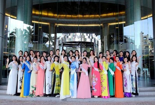 Dịu dàng như thí sinh Hoa hậu bản sắc Việt toàn cầu