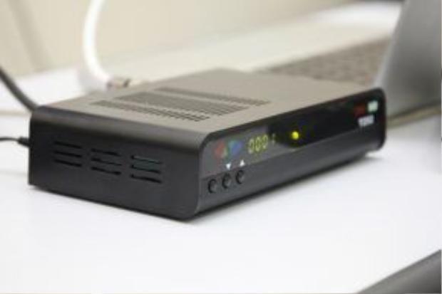 Một chiếc đầu thu DVB-T2 hiện nay có giá khá rẻ.