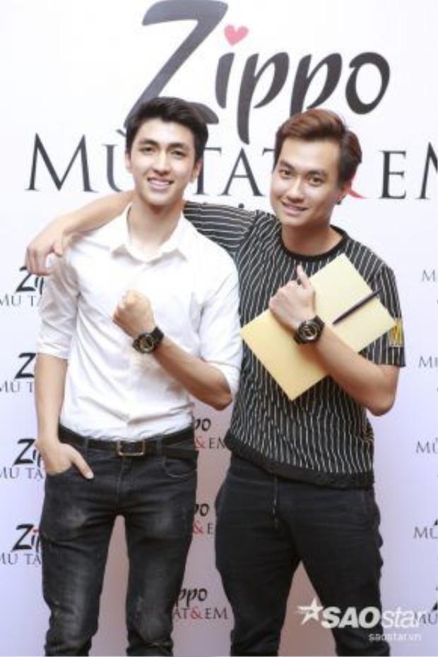 Hai diễn viên trẻ Bình An và Anh Tuấn đảm nhận vai diễn của Hồng Đăng và Mạnh Trường lúc trẻ.