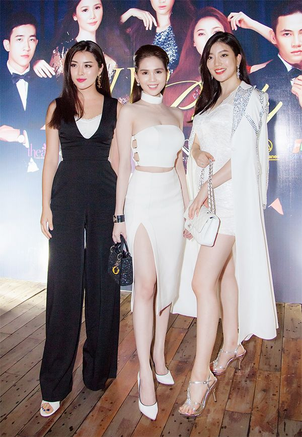 Ngọc Trinh, Vũ Ngọc Anh tự tin đọ sắc cùng Hoa hậu Hàn Quốc  Trung Quốc