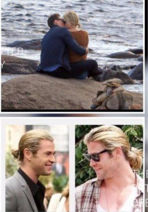 Mọi người nhầm hết cả rồi, thực ra cái người hôn Tom trên bãi biển là… Chris Hemsworth kìa!