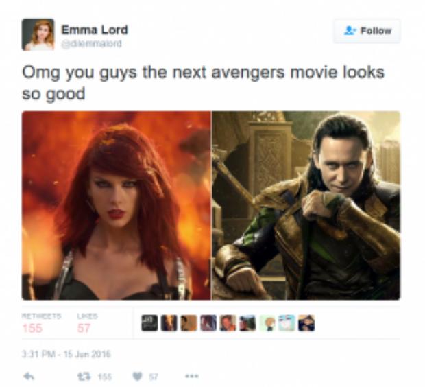 Hai anh chị mà cùng đóng Avengers thì hết xẩy!!!