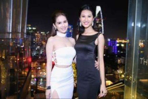Top 5 Hoa khôi Áo dài 2016 Anh Thư có dịp đọ sắc cùng Ngọc Trinh.