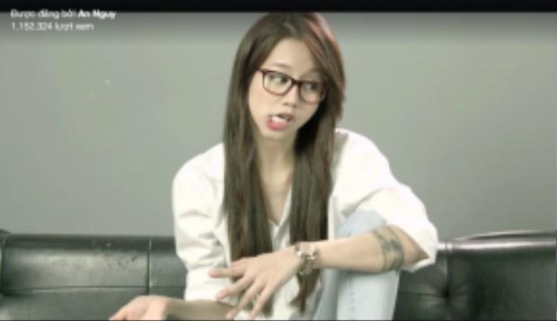 """Hình ảnh dễ thương của An Nguy trong Vlog mới """"Có nên tha thứ?"""""""