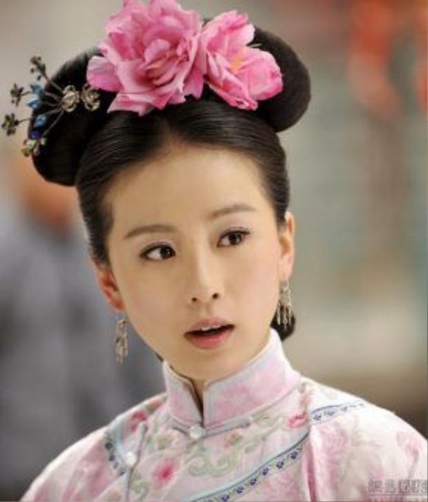 5. Lưu Thi Thi: Nàng ngọc nữ màn ảnh sở hữu vẻ đẹp tinh tế và truyền thống nhưng diễn xuất bị cho là còn một màu.