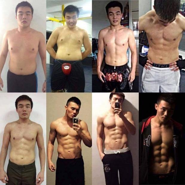 Bộ ảnh chứng minh sức mạnh thần kì của việc tập gym