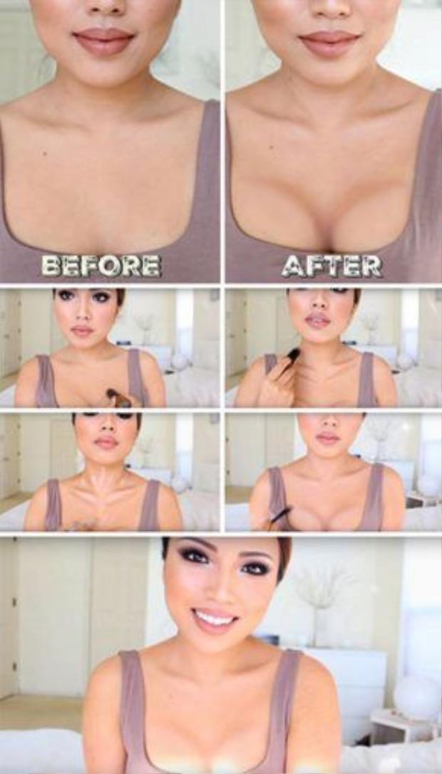 Chỉ với vài bước đơn giản là bạn đã sở hữu khuôn ngực hoàn hảo mà không cần phẫu thuật thẩm mĩ