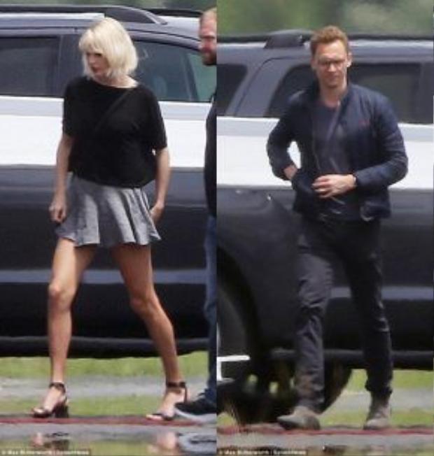 Chàng Tom Hiddleston cũng nhanh chóng theo bạn gái lên máy bay rời đi vào chiều ngày 16/6 (giờ địa phương).