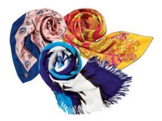 Những chiếc khăn là phụ kiện thời trang luôn được nhiều người yêu thích