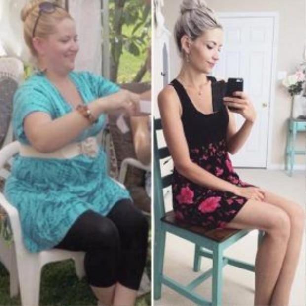 Sự khác biệt đáng kinh ngạc khi ở cùng 1 góc chụp của bà mẹ 3 con.