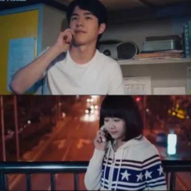 … Và chỉ những cuộc điện thoại ngắn ngủi với Cảnh Cảnh trở thành niềm vui nhỏ bé của Dư Hoài.