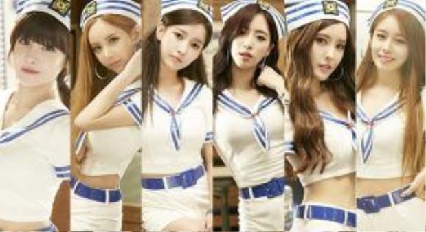 T-ara đã đánh bại hàng loạt girlgroup tên tuổi, thống trị mảng nhạc số tạ Hàn trong 6 năm qua.