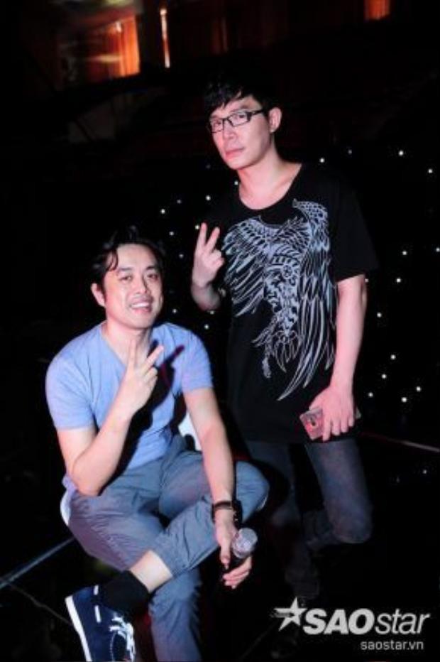 Dương Khắc Linh và Nathan Lee