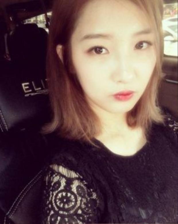 Tấm hình được Jihyun đăng cùng status nhớ lại kỷ niệm.