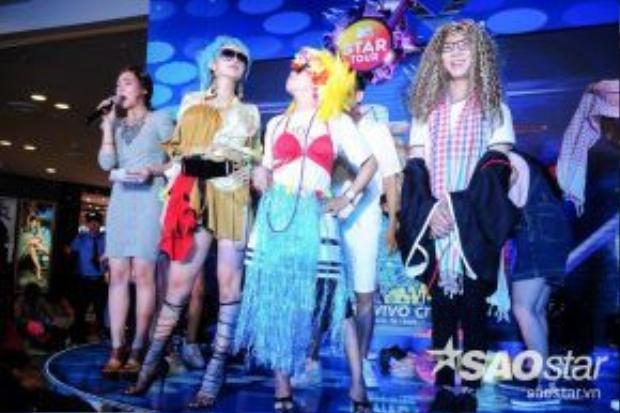 Minh Hằng khiến các fan không thể nhịn cười với phần tạo dáng bá đạo trong trò chơi Thử làm stylist.
