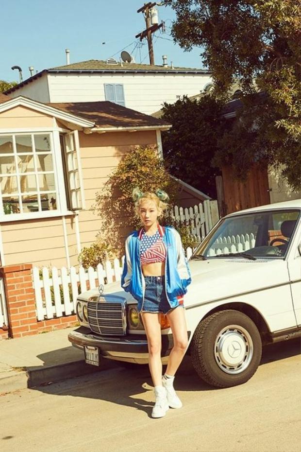 TaeYeon (SNSD) khẳng định thương hiệu Kid Leader duy nhất K-Pop