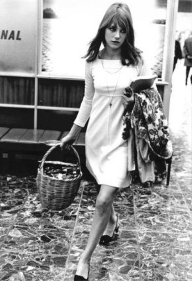 Jane Birkin và chiếc túi may mà đi đâu cô cũng xách
