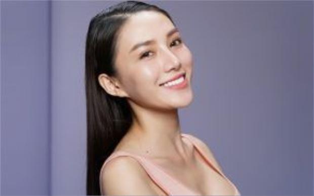 Hình ảnh thử thách chụp mặt mộc của thí sinh Lê Hà