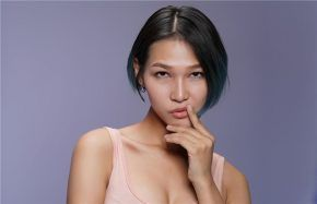 Hình ảnh thử thách chụp mặt mộc của thí sinh Diệp Linh Châu