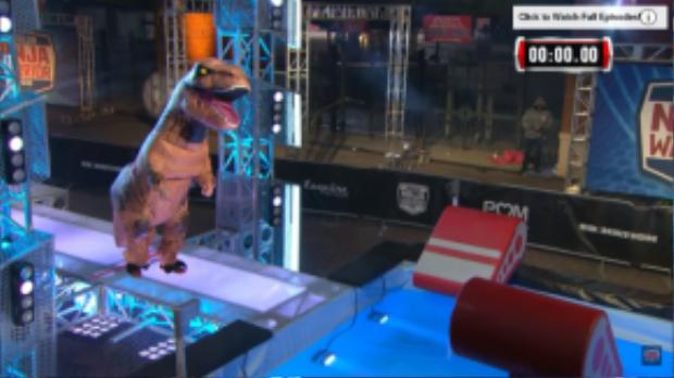 Bộ dạng ấn tượng của chú khủng long T-rex.