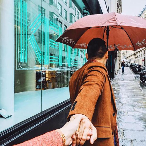 Hoa hậu Kỳ Duyên giản dị khoe sắc trên đường phố Paris