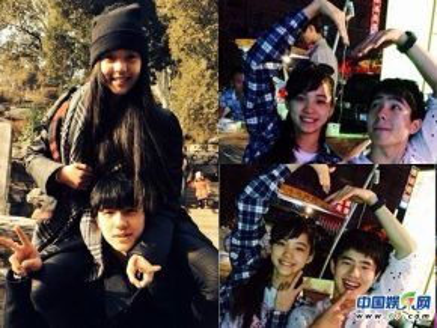 Lưu Hạo Nhiên và Âu Dương Na Na rất thân thiết ở ngoài đời. Cả hai thường xuyên đi chơi, gặp gỡ nhau như anh em trong gia đình.
